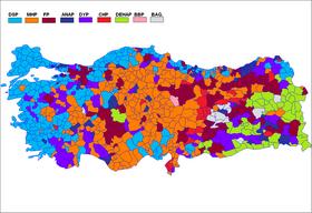 1999 Türkiye genel seçimleri - Vikipedi