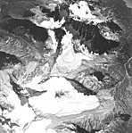 Iliamna Volcano, mountain glaciers, August 25, 1964 (GLACIERS 6576).jpg
