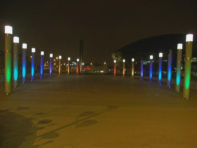 Illuminated Roald Dahl Plas