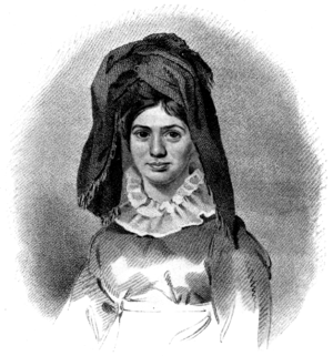 Princess Caraboo - Image: Illustration facing page 44, Devonshire Characters and Strange Events
