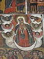 Image of Mother Mary - Debre Birhan Selassie (17th-Century Church) - Gondar - Ethiopia (8689217790).jpg