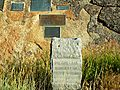 Independence Rock Oregon Trail Marker.jpg
