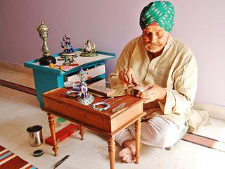 Inder Singh Kudrat Master Craftsman Jaipur