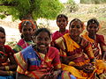 India - Sights & Culture - village girls dressed up for a festival dance (4040706790).jpg