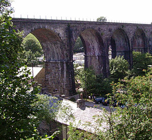 Ingleton branch line - Ingleton Viaduct