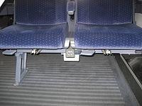 Intercity-Zug • Steckdose unter Sitz • 1.JPG