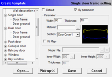 InteriCADT6 single door frame setting.png