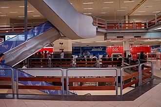Silvio Pettirossi International Airport - Image: Interior del Aeropuerto Silvio Pettirossi 2