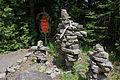 Inukshuk, site traditionnel huron Onhoüa chetek8e, Wendake.jpg