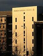 Ipswich borough council offices