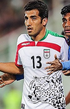 Iran vs. India - 2018 FIFA World Cup qualification, Vahid Amiri.jpg