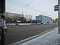 Irkutsk. February 2013. Cinema Barguzin, regional court, bus stop Volga, Diagnostic Center. - panoramio (53).jpg