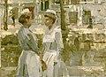 Isaac Israëls - Amsterdamse dienstmeisjes.jpg