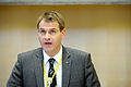 Islands social- och forsakringsminister, Arni Pall Arnason, pa Nordiska radets session i Stockholm 2009.jpg
