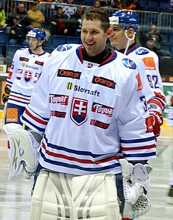 Ján Lašák Slovak extraleague ice hockey player, ice hockey goalkeeper, and Olympic athlete