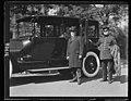 J.J. Jusserand at automobile. White House, Washington, D.C. LCCN2016893785.jpg