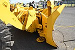 JASDF Bucket Loader(TCM, 44-3243) bucket right rear view at Aibano Sub Base October 14, 2018.jpg