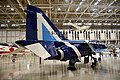JASDF T-2(19-5173) right rear view at in the Kakamigahara Aerospace Science Museum November 7, 2020.jpg
