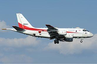 IHI Corporation F7 - Image: JMSDF Kawasaki XP 1 Aoki