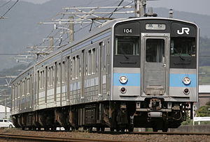 121 series - A pair of 121 series sets on the Yosan Line in May 2009