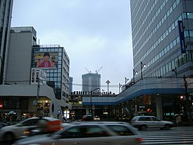 Station JR de Tamachi