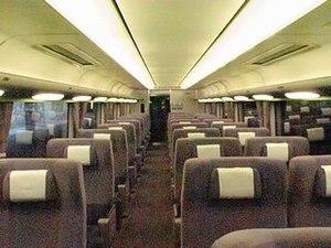 281 series - Image: JRW Tsc 280 inside