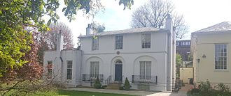 John Keats - Wentworth Place, now the Keats House museum (left), Ten Keats Grove (right)