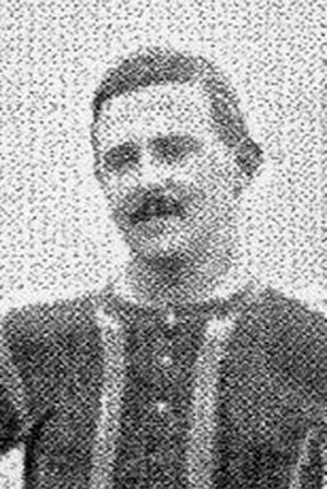 John Montgomery (footballer) - Montgomery while with Brentford in 1907
