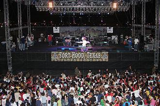 Ja Rule - Ja Rule performing in Fort Hood, Texas, May 13, 2005