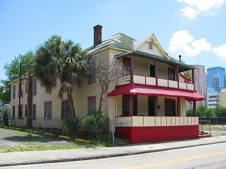 Rooming house - The Jackson Rooming House in Tampa, Florida.