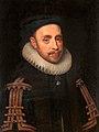 Jacob Hoefnagel (Attr.) - Portrait of king Gustavus Adolphus of Sweden.jpg