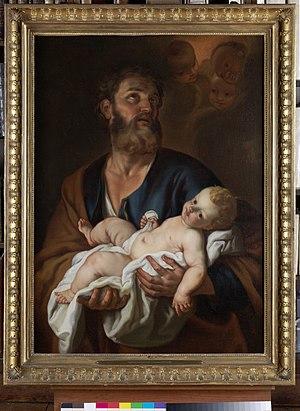 Jacob Leyssens - Image: Jacob Leyssens Joseph and the child Jesus