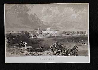 Carlisle, Cumbria - Historic view of Carlisle