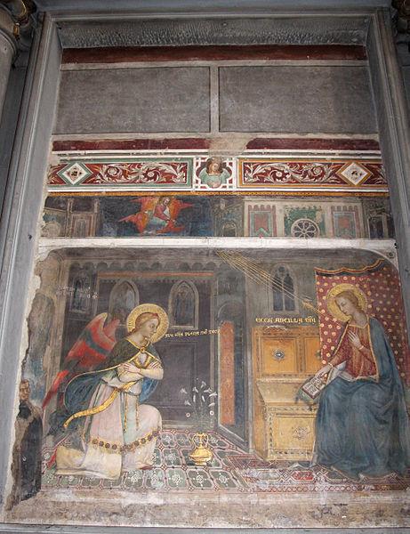 File:Jacopo di cione (attr.), annunciazione del 1371, da quella dell'annuzniata, 02.JPG