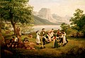 Jakob Gauermann - Polsterltanz am Grundlsee 1821.jpg
