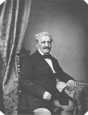 Jakob Philipp Fallmerayer - Jakob Philipp Fallmerayer, by Franz Seraph Hanfstaengl ca. 1860