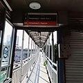 Jalur Transit di Halte Matraman 1.jpg