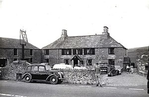 Jamaica Inn - As the inn was in 1959, before the late 20th c. alterations and additions