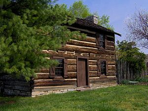 White's Fort (Tennessee) - James White home in Knoxville