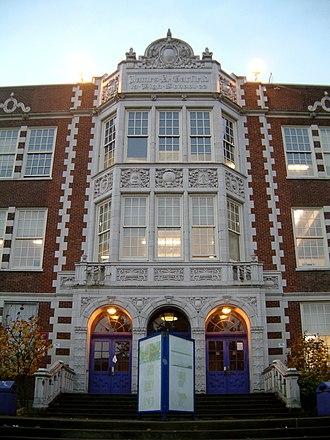 Garfield High School (Seattle) - Image: James A Garfield HS 2