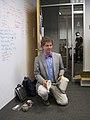 James Bottomley at the Novell office in Cambridge Massachusetts 2009.jpg