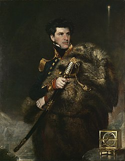 Sir James Clark Ross, vum John R. Wildman, 1833–1834, National Maritime Museum, London