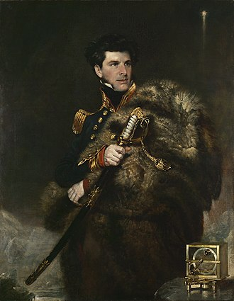 Discovery Expedition - Sir James Clark Ross, discoverer of the Ross Sea, the Ross Ice Shelf and McMurdo Sound