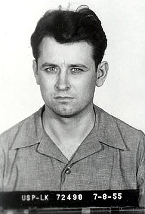 James Earl Ray - Mug shot of Ray taken in 1955