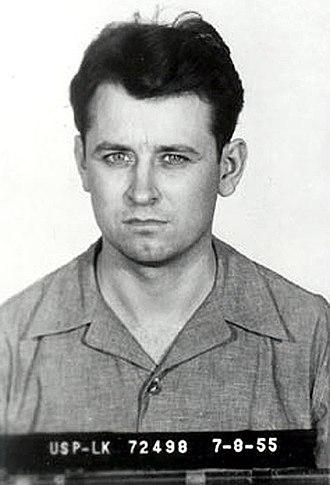 James Earl Ray - Mug shot of Ray taken on July 8, 1955