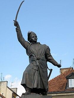 Jan Kilinski Monument in Warsaw (2)