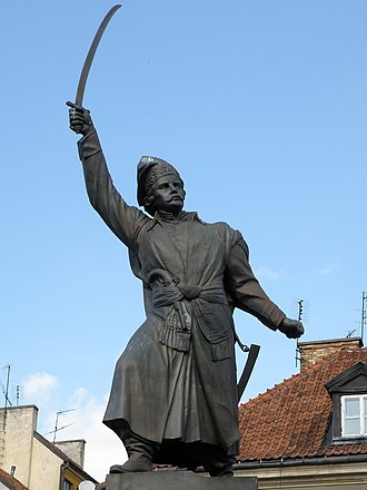 Gray Ranks - Jan Kiliński statue