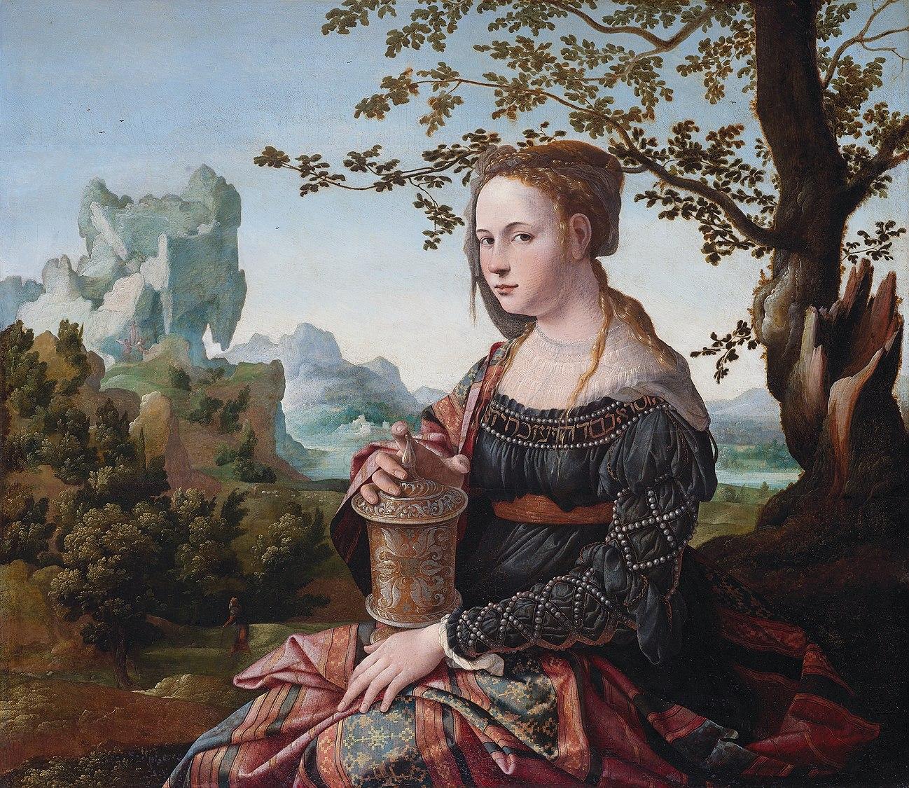 Jan van Scorel - Maria Magdalena (Rijksmuseum Amsterdam version) - 2.jpg