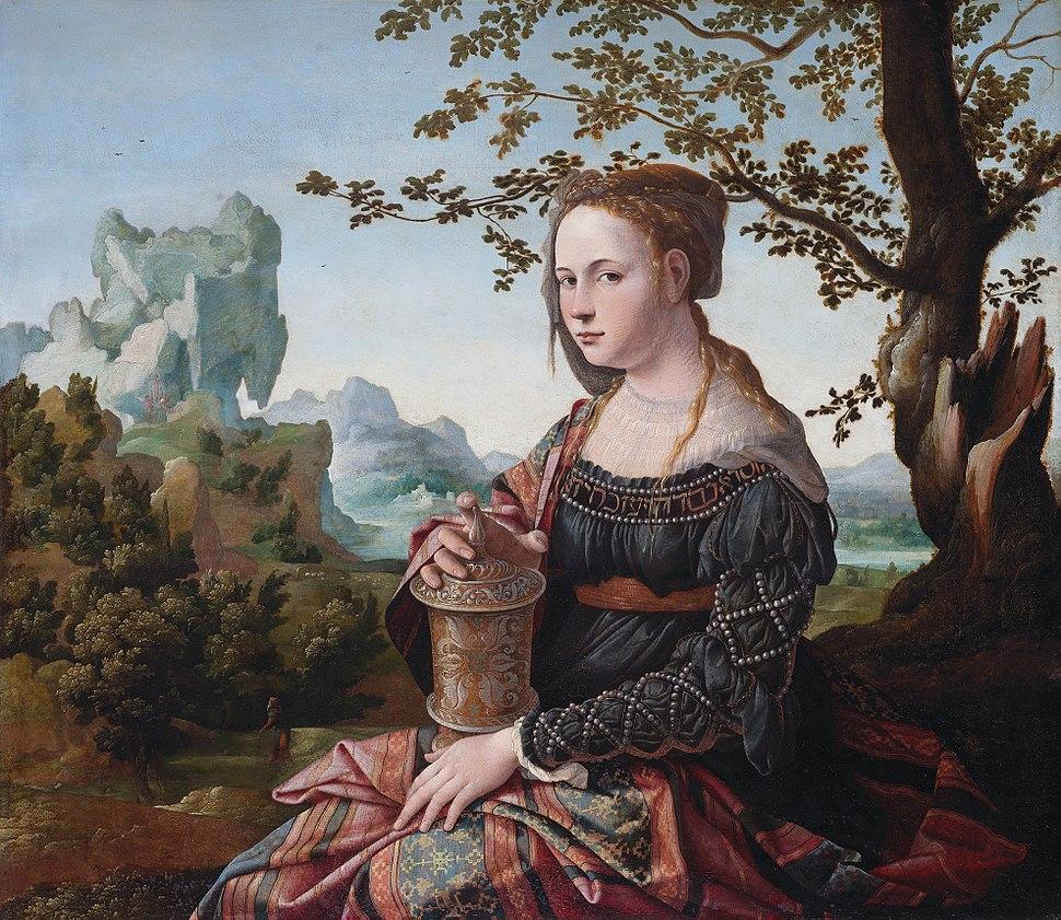 Jan van Scorel - Maria Magdalena (Rijksmuseum Amsterdam version) - 2