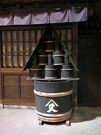 Bucket - Image: Japanese Edo Bousui